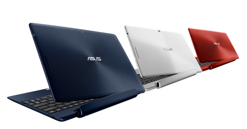The ASUS Transformer Pad TF300 comes in a variety of colors to suit different personal styles.
