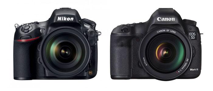 The big question - Nikon D800 or the Canon EOS 5D Mark III?