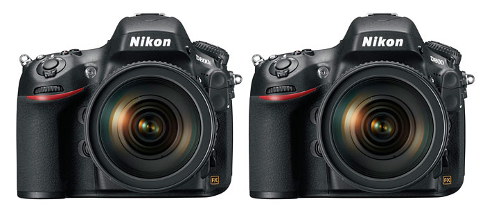 Don't forget that the D800 has an almost identical twin, the D800E that come without an optical low-pass filter.