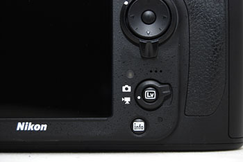 The D800 has the convenient Live View switch from the D7000 and D4.