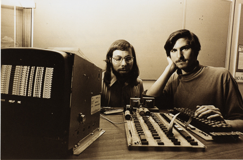 Steve Jobs (Right) and Steve Wozniak (Left) founded Apple in Los Altos, California, right in the heart of Silicon Valley. (Image Source:  Computerhistory.org)