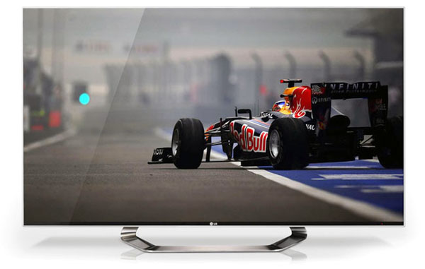 """Although LG introduced their initial Borderless blueprint two years ago with their Infinia line-up, it is their latest LM9600 which cuts closer to a true """"borderless"""" design in our opinion. Fitted with direct Nano LED backlights and local dimming features, it looks like LG is sparing no expense in bringing the war to the competition's active-shutter faction."""