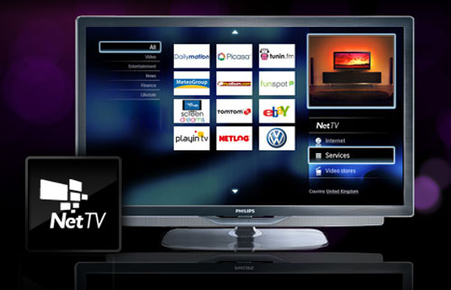 Philips Net TV (Image credit: Philips Electronics)