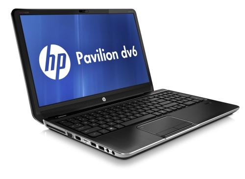 The sleek, sexy HP Pavilion dv6