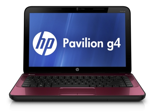 HP Pavilion g4 in Ruby Red
