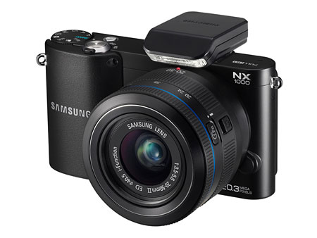 The entry-level Samsung NX1000.