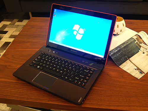 The Lenovo IdeaPad Y480