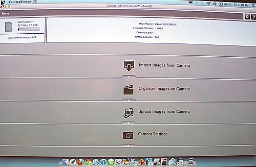 canon camera window software