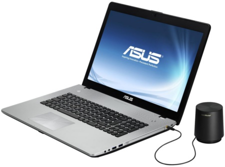 ASUS N46 with SonicMaster Premium Subwoofer