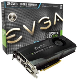 EVGA GeForce GTX 670 FTW