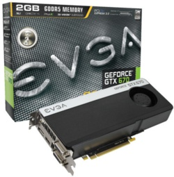 EVGA GeForce GTX 670 Superclocked