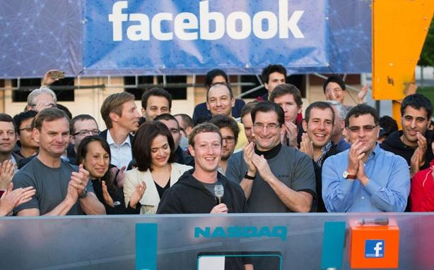 Facebook CEO Mark Zuckerberg on the day of his company's listing on the NASDAQ (Source - DigitalTrends)