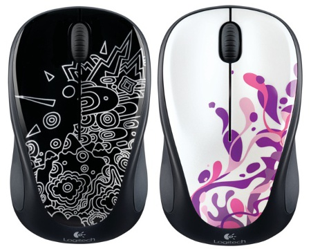 Black Topography and Pink Splash (Image source: Logitech)