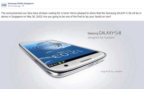 Source: Samsung Mobile Singapore
