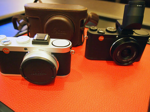 We like the silver and black model as the color scheme is reminiscent of old-school rangefinders.