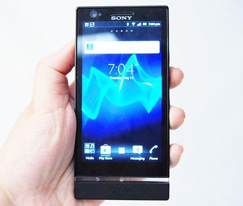 "The Xperia NXT series, of which the Xperia P belongs to, encapsulating the essence of a ""human-centric"" design."