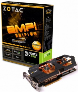 Zotac GeForce GTX 670 AMP! Edition