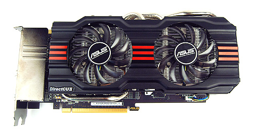 The ASUS GTX 670 DirectCU II TOP sports the second generation DirectCU II cooler that has heat pipes in contact with the GPU core for more efficient heat dissipation.