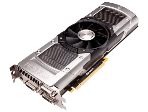 The new NVIDIA GeForce GTX 690 delivers high-efficiency power delivery and efficient cooling - with a bold industrial design to match