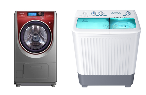 Twin Tub and Dryer washing machines known for energy efficiency rating and anti-bacterial treatment (Image source: Haier)