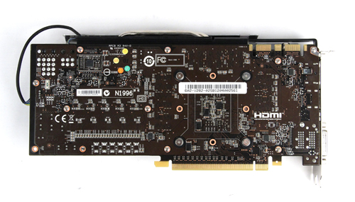MSI uses the reference PCB for their GTX 680.
