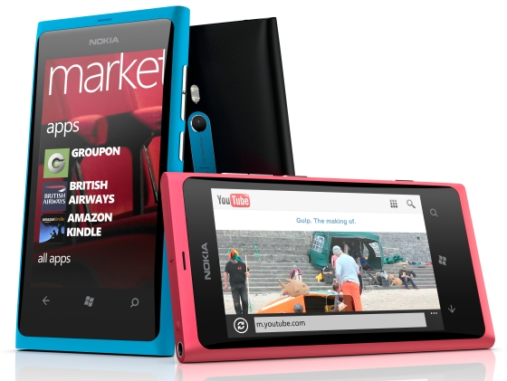 Nokia's Lumia 800 is leading the charge in China for Windows Phone 7. (Source: Nokia)
