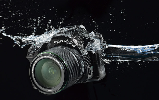 The Pentax K-30 is one of the most affordable DSLRs to feature full weather-sealing. (Source: Pentax)