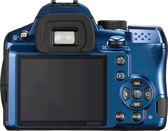 If white doesn't suit you, you can also go for Blue. (Source: Pentax)