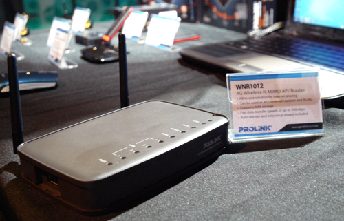 Prolink's WNR1012 combines the best of 4G and 802.11n features in a single package. Besides its day-job as a router, the WNR1012 also doubles up as a bridge or repeater when called upon.