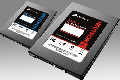 While we couldn't get a picture of these new Solid-State Drives, Corsair first showed us these fourth generation SSDs as they are built with the innovative Link A Media Devices (LAMD) controller that is able to produce random read and write speeds of up to 90K IOPS. Sequential read speeds are also attainable at up to 555MB/s, making these two new SSDs perfect for any high-performance user