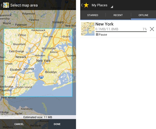 Google Updates Maps with Offline Saving, Singapore Not Supported Yet on