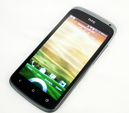 The HTC One S.