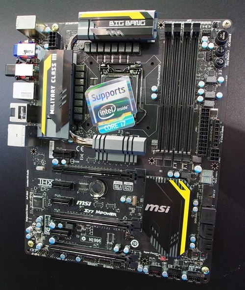 According to the MSI product manager we spoke to,  the MSI Z77 MPower board features OC-In-Warranty that translates to better warranty terms for overclockers who damage their boards due to their overclocking attempts.