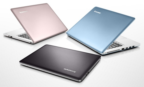 The U310 Ultrabook will come in three different colors: lavender, blue and black.