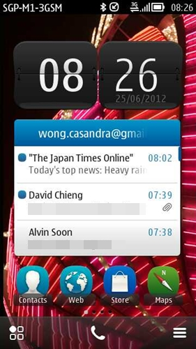 On Belle, there are more interactive live widgets of different sizes to decorate your phone screen with.