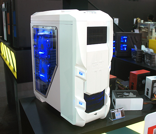 "The Aerocool GT in all its ""white"" glory."