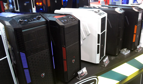 The popular Predator casing will now be available in a mid-tower form factor and will come in a variety of colors.