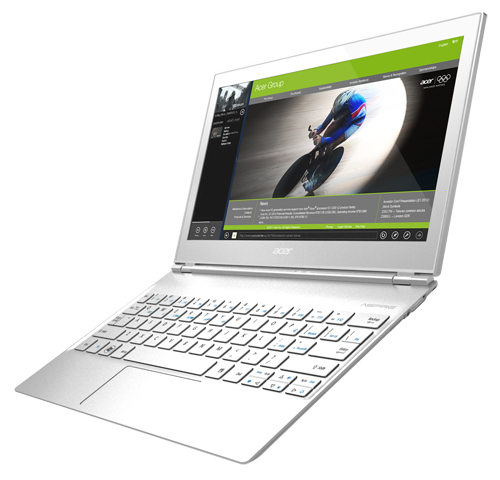 The 11.6-inch Acer Aspire S7.