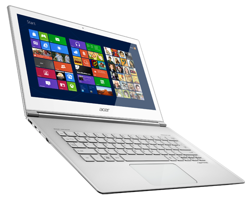 The 13.3-inch Acer Aspire S7.