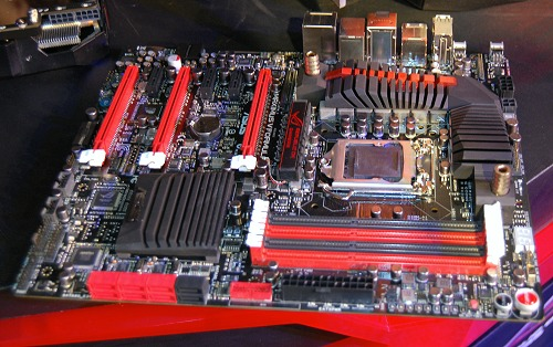 The Intel Z77 chipset based ASUS Maximus V Formula has all the hallmarks of the ROG branding and then some.