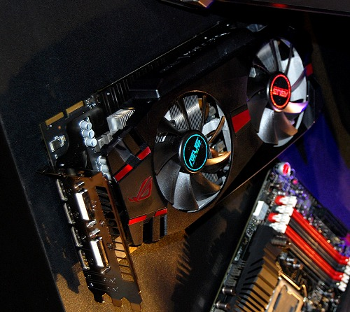 Here's the stealthy looking Matrix HD 7970.