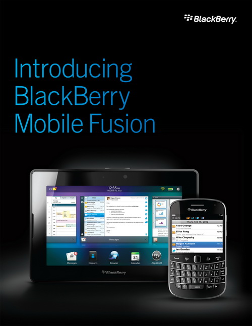 BlackBerry Mobile Fusion Unites and Manages BB OS, Android