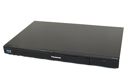 The 3D Blu-ray player doubles as an AV receiver and also features an integrated iPod dock.