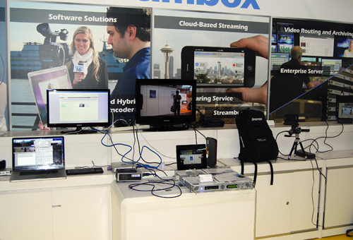 Innovation and advances in technology means that this equipment is all you need to broadcast live over data networks.