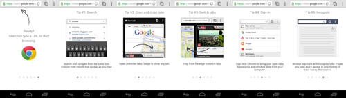 Here are some of the most prominent features of Chrome for Android.