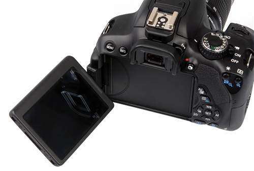 The tilt-and-swivel lens makes it really easy to capture images or even videos from obscure angles