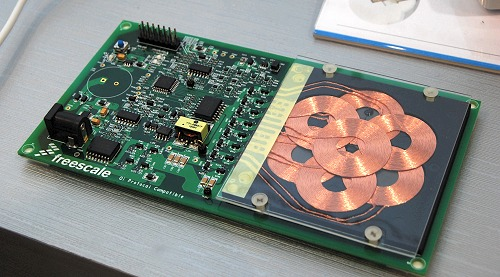 The Future of Charging - Freescale Demos Wireless Charging