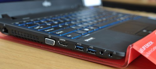 As a notebook for enterprise users, it comes with a wide array of ports to have you covered for all sorts of scenarios.