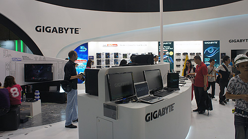 Gigabyte has a wide range of new products on show at Computex 2012, including motherboards, graphics cards, notebooks and even peripherals such as keyboards and mice.