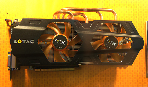 The Zotac GeForce GTX 680 AMP! Edition